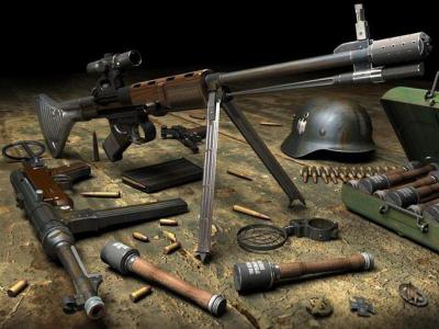 Ремонт антикварного оружия