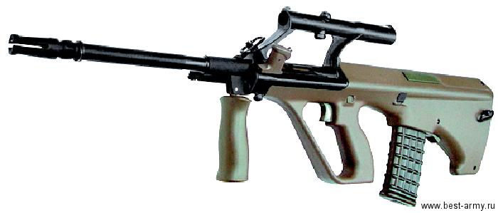 В данной винтовке применена