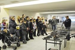 Арсенал спортивно-стрелкового клуба МГССК на соревновании по стрельбе среди детей с ограниченными возможностями.
