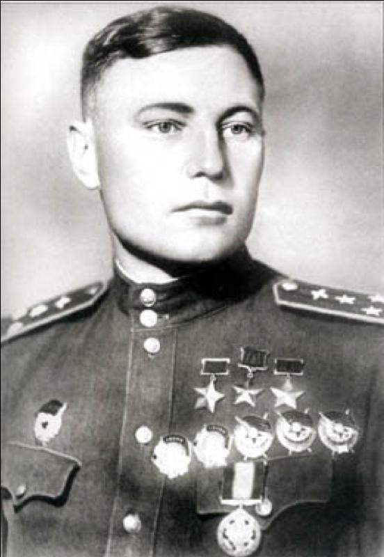 Покрышкин, трижды герой советского союза